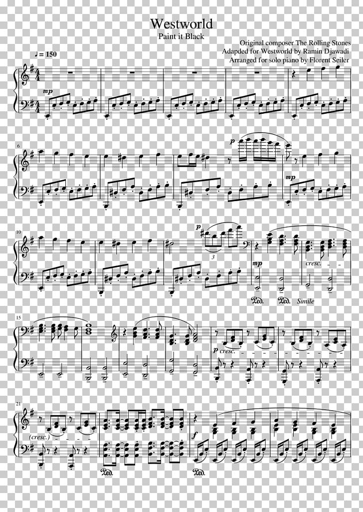 Sheet Music MuseScore Musical Instruments Piano PNG, Clipart
