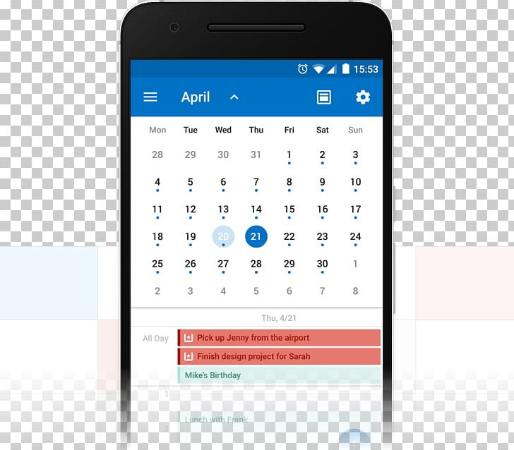 Android Calendar Wunderlist Microsoft Outlook PNG, Clipart, Android