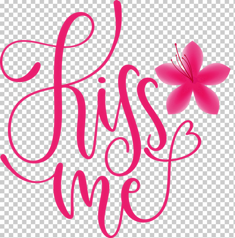 Kiss Me Valentines Day Valentine PNG, Clipart, Biology, Cut Flowers, Floral Design, Flower, Kiss Me Free PNG Download