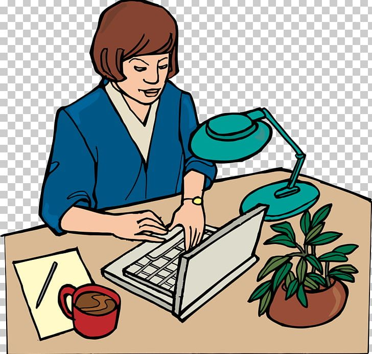 Animation Office Secretary PNG, Clipart, Administrative Professionals Day, Cartoon, Computer, Design Element, Desk Free PNG Download