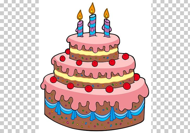 Birthday Cake Drawing Png Clipart Baked Goods Big Cartoon