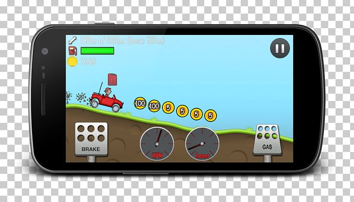 Hill Climb Racing Temple Run Android Emulator Game PNG
