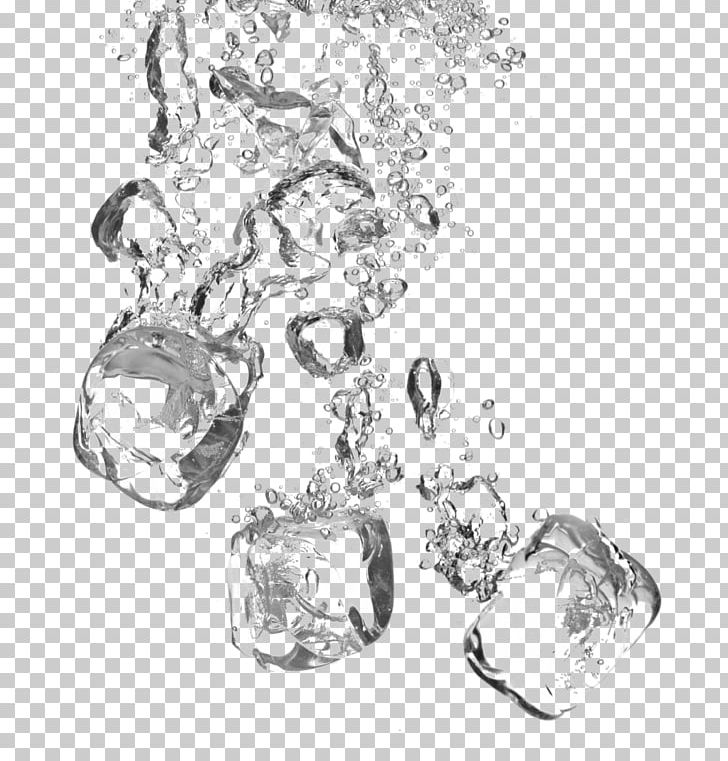 Water Ice Cube PNG, Clipart, Black And White, Body Jewelry, Clip Art, Crystal, Cube Free PNG Download