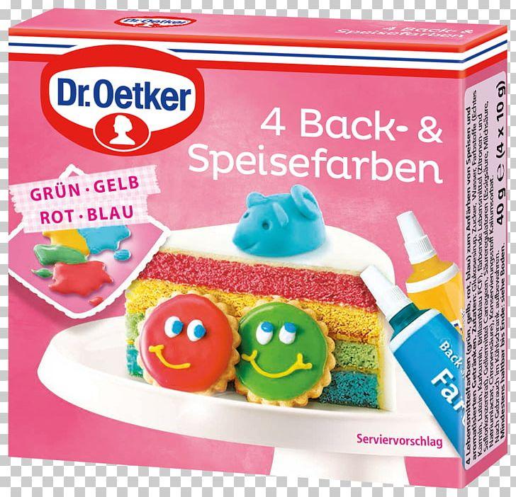 Food Coloring Dr. Oetker 4 Baking And Food Colors Dr.Oetker ...