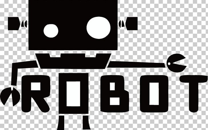 Robotics Logo PNG, Clipart, Android, Apple Logo, Black, Black And White, Brand Free PNG Download
