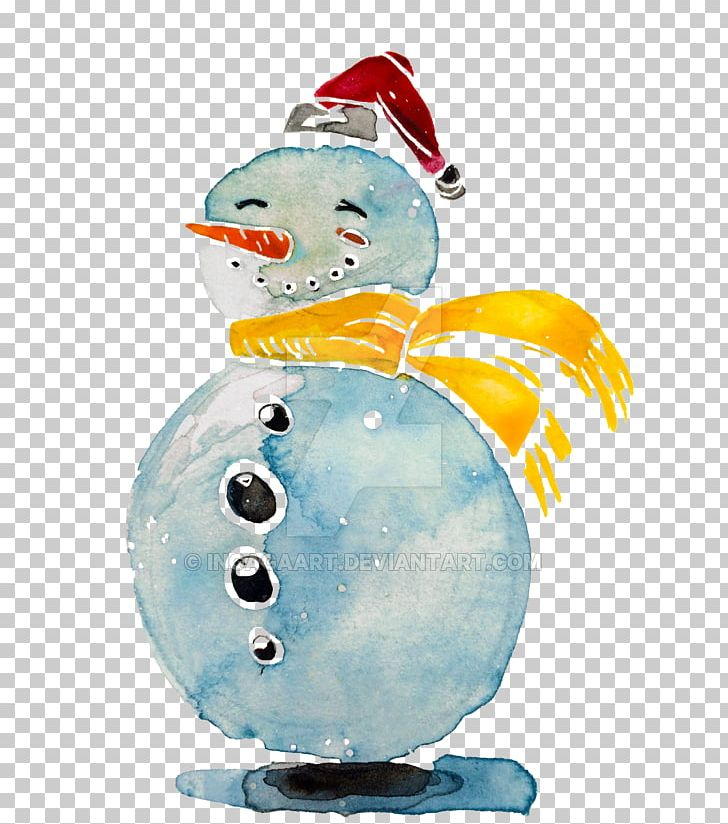 Snowman Watercolor Painting Illustration PNG, Clipart, Adobe Illustrator, Christmas Ornament, Download, Drawing, Gouache Free PNG Download