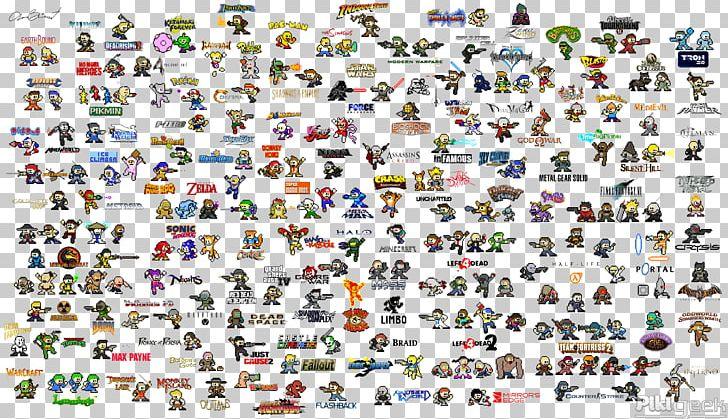 Mega Man Video Game Pixel Art Character 8 Bit Color Png Clipart