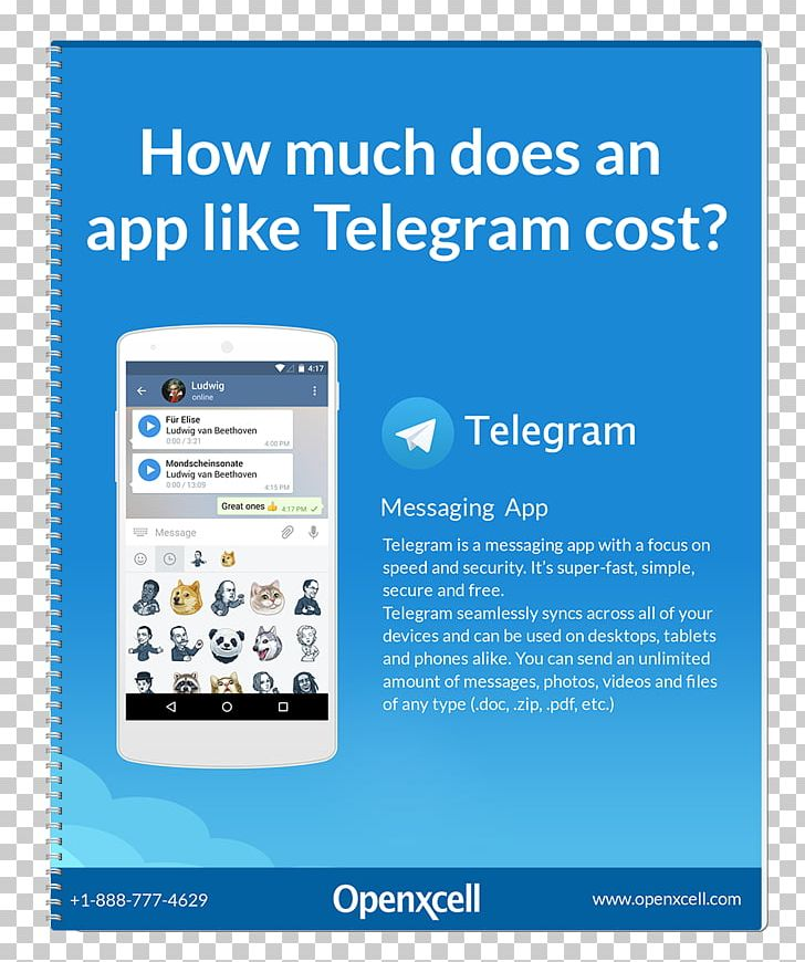 Telegram Infographic Android Messaging Apps PNG, Clipart