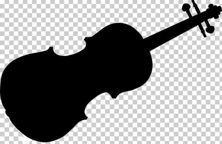 Violin Silhouette Musical Instruments PNG, Clipart, Black And White, Bow, Bowed String Instrument, Cello, Clip Art Free PNG Download