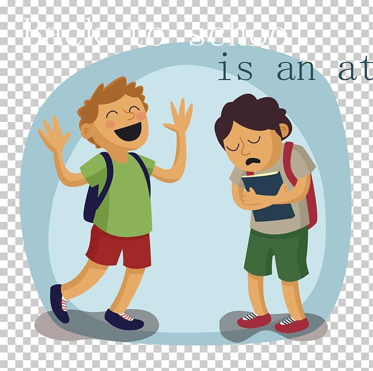Student Euclidean PNG, Clipart, Boy, Cartoon, Child, Clip Art, Conversation Free PNG Download