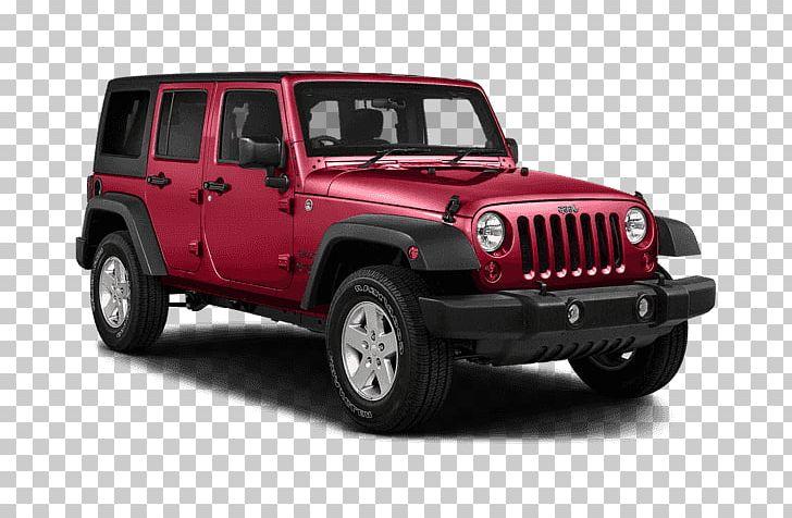 2018 Jeep Wrangler JK Unlimited Sport Chrysler Sport Utility Vehicle Dodge PNG, Clipart, 2017 Jeep Wrangler Unlimited Sport, Car, Dodge, Fourwheel Drive, Jeep Free PNG Download