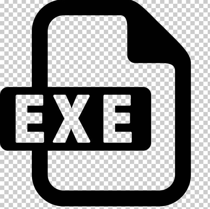 exe Computer Icons Executable PNG, Clipart, Area, Black And