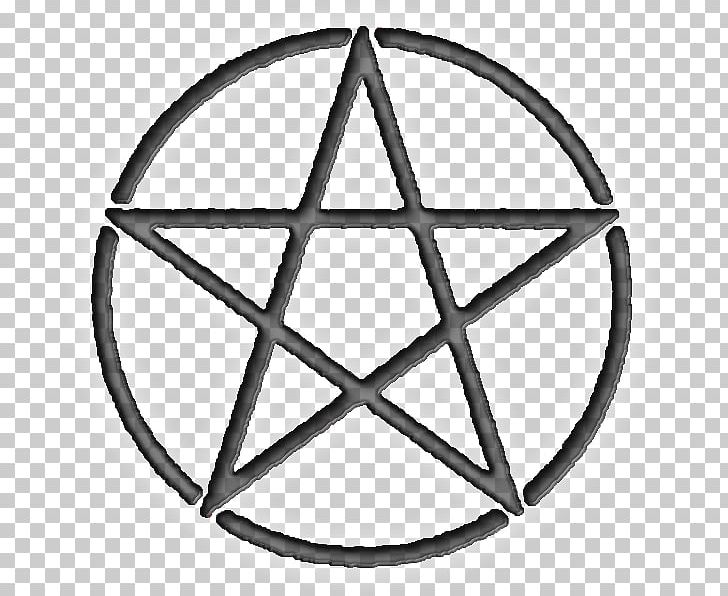 Pentacle Pentagram Symbol Wicca Witchcraft PNG, Clipart, Angle, Area, Black And White, Circle, Definition Free PNG Download