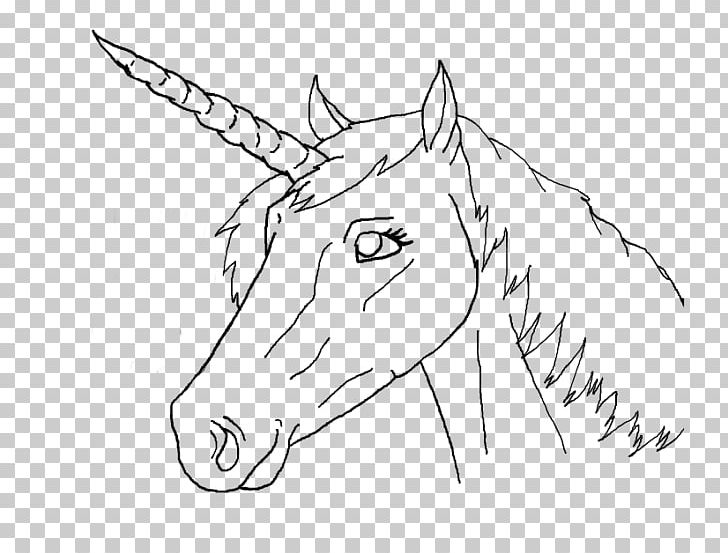 Horse Line Art Drawing Unicorn PNG, Clipart, Angle, Animals, Artwork, Black And White, Bridle Free PNG Download