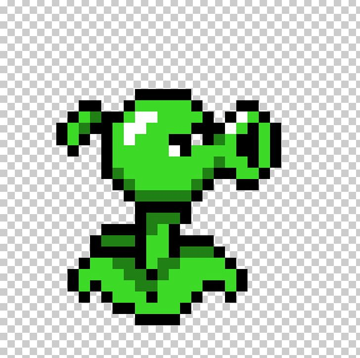 Plants Vs Zombies Garden Warfare Pixel Art Peashooter Png