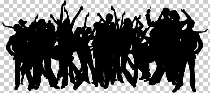 Party Silhouette PNG, Clipart, Black And White, Brand, Clipart, Computer Wallpaper, Concert Free PNG Download