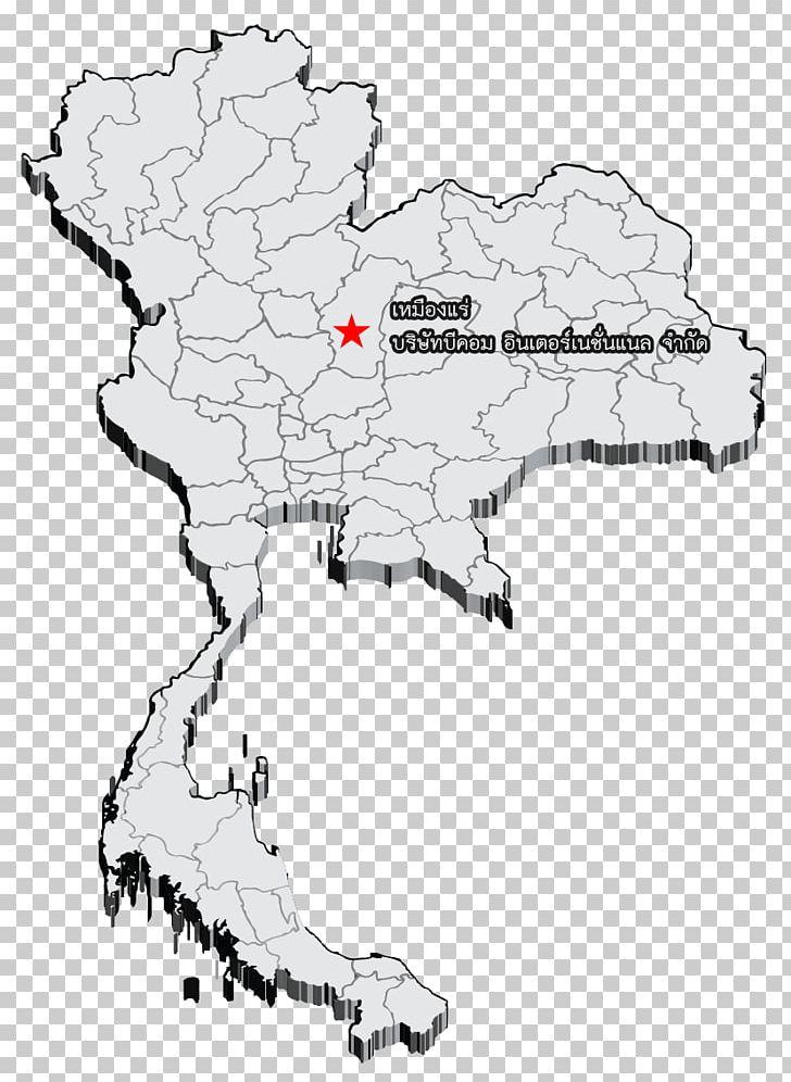 Thailand Map Three-dimensional Space 3D Slash Location PNG