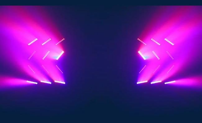 Purple Stage Light Effect Png Clipart