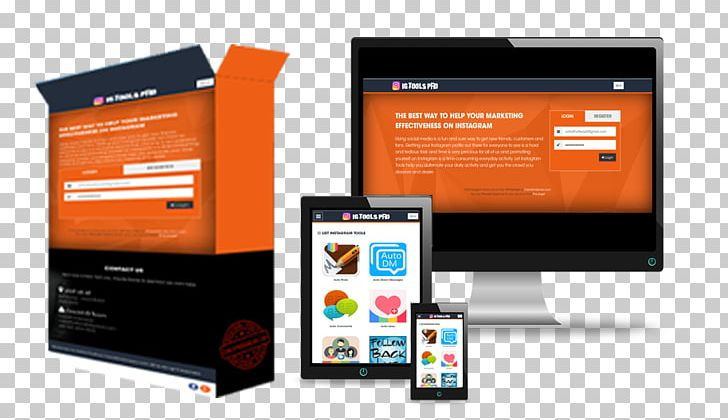 Marketing Social Media White-label Product Display Advertising PNG