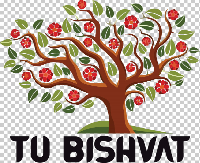 Tu BiShvat Jewish PNG, Clipart, Branch, Flower, Jewish, Plants, Royaltyfree Free PNG Download