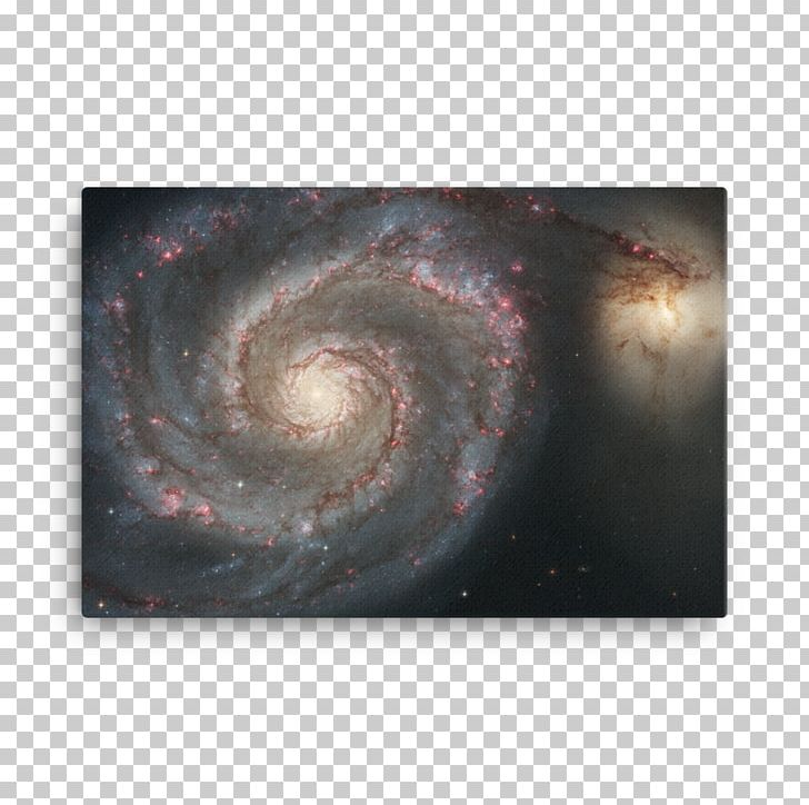 Andromeda galaxy. Whirlpool spiral hubble space