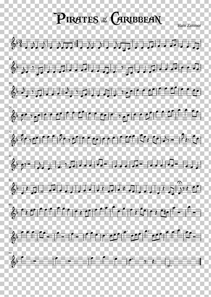 He's A Pirate Sheet Music Pirates Of The Caribbean Piano Violin PNG