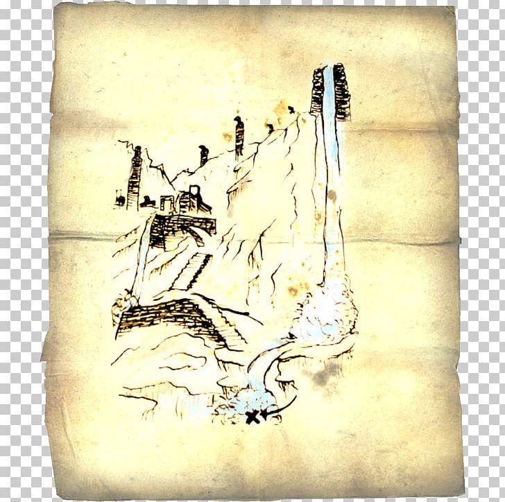 The Elder Scrolls V: Skyrim Treasure Map Treasure Hunt PNG ...