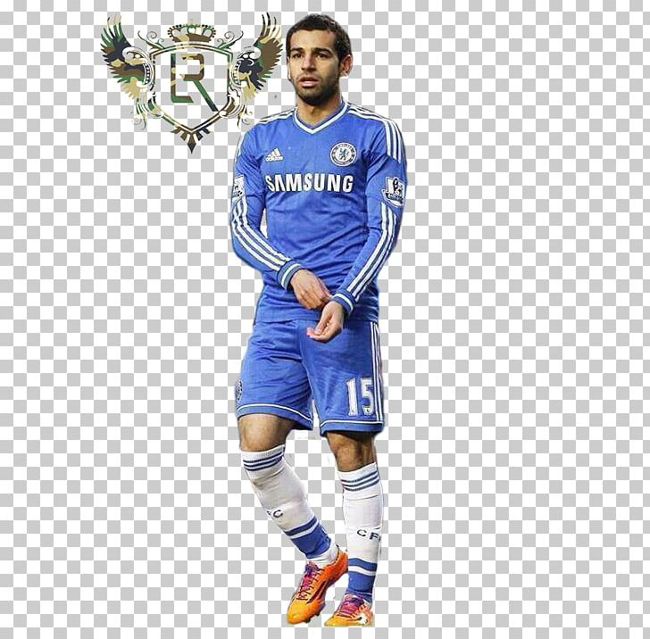 hot sale online e7407 1ac4f Mohamed Salah Chelsea F.C. Jersey Football Player PNG ...