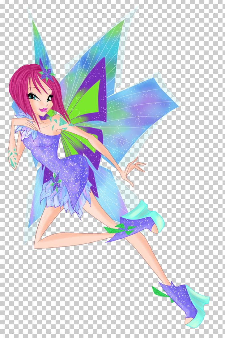 Kleurplaten Winx Trix.Tecna Flora Bloom The Trix Winx Club Believix In You Png