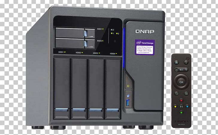 QNAP TVS-682-I3-8G 6 Bay NAS Network Storage Systems Intel Core I3