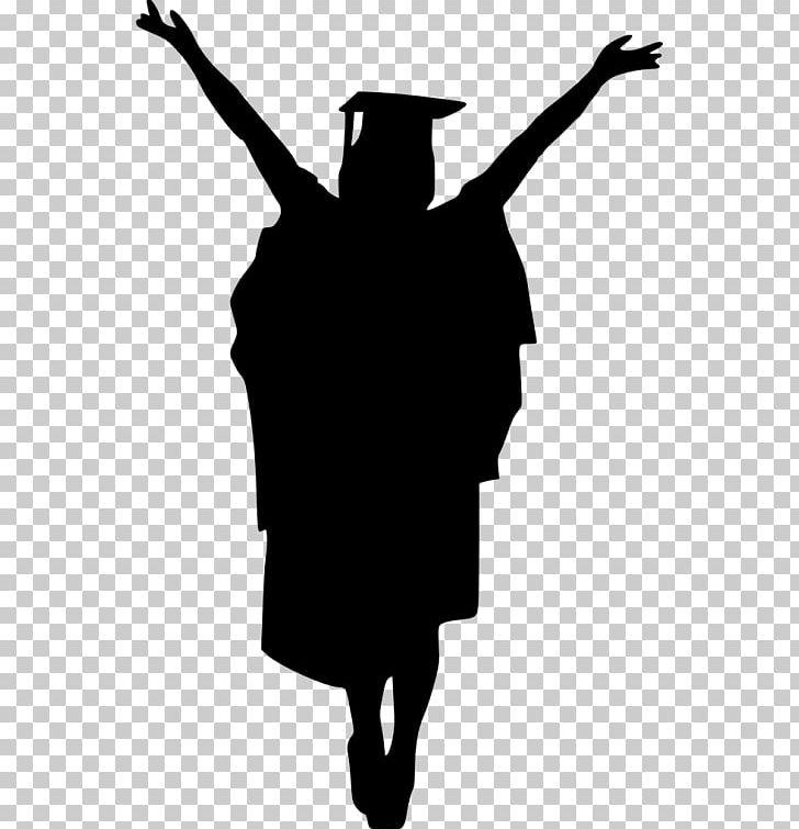 Graduation Ceremony Square Academic Cap Silhouette PNG