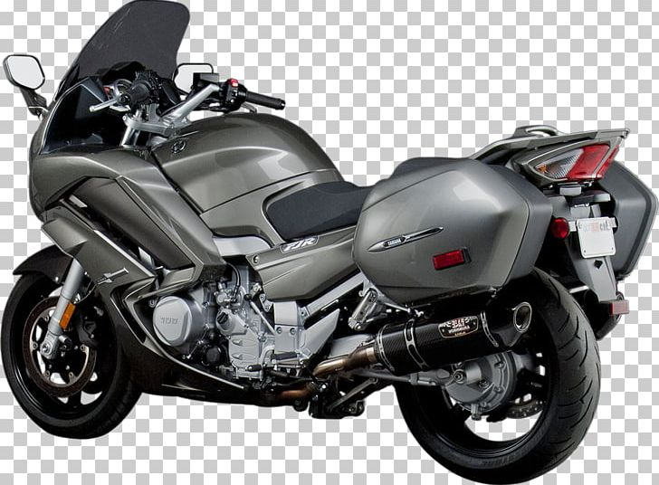 Exhaust System Car Cruiser Yamaha FJR1300 Motorcycle PNG