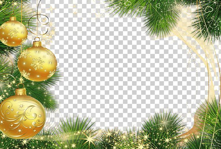 Christmas Frame Golden Balls PNG, Clipart, Christmas, Frame, Holidays Free PNG Download