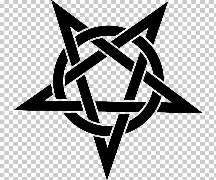 Pentagram Pentacle Stencil Wicca PNG, Clipart, Angle, Art, Baphomet, Black And White, Brand Free PNG Download