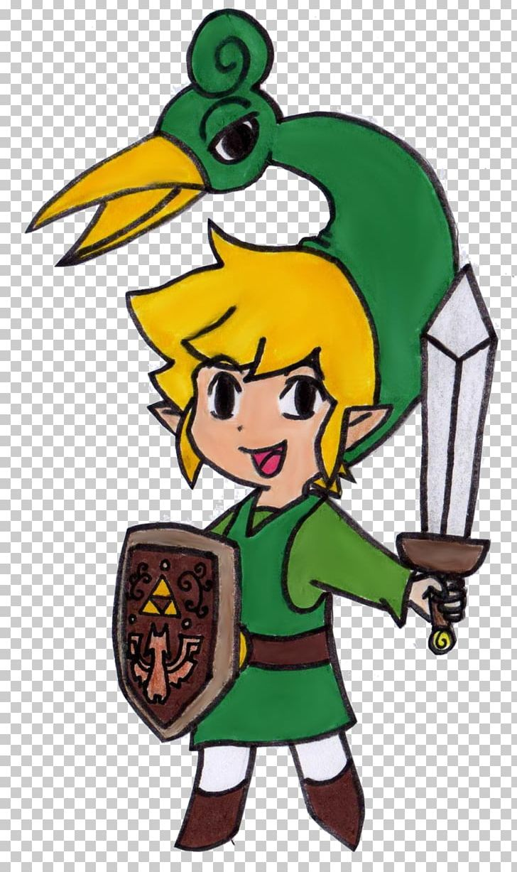 drawing game characters The Legend Of Zelda The Minish Cap Link Drawing Video Game
