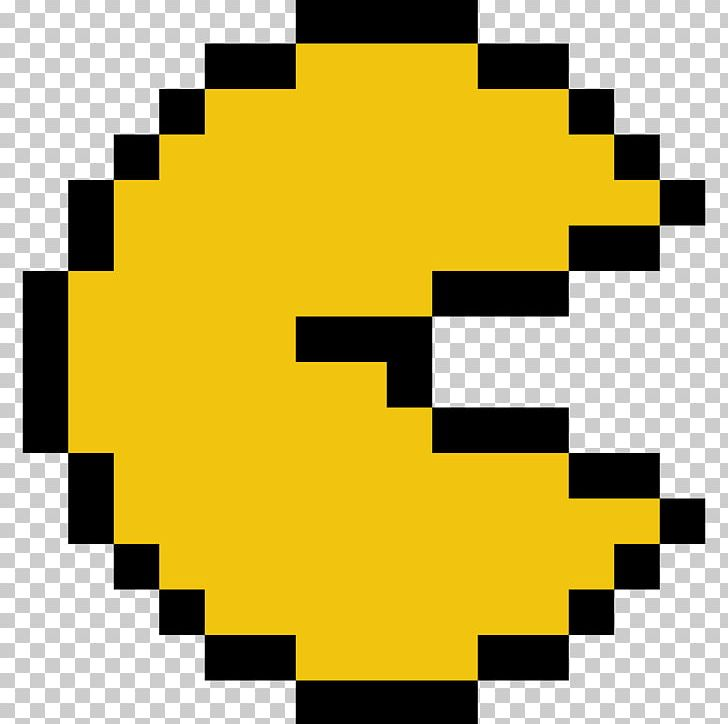 Pac Man World 3 Minecraft Pixel Art Png Clipart Angle