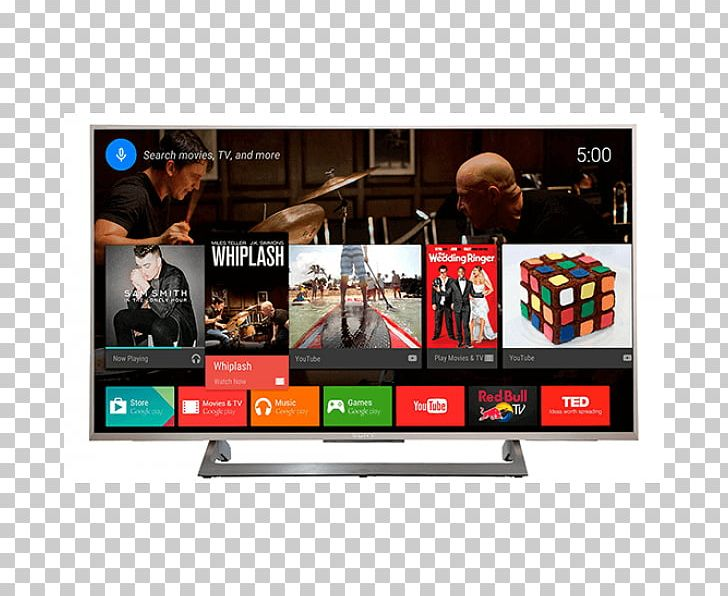 4K Resolution LED-backlit LCD Bravia Ultra-high-definition