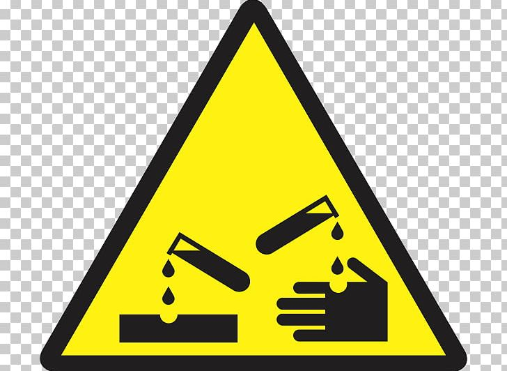 Corrosive Substance Hazard Symbol Sign Chemical Substance PNG, Clipart, Angle, Area, Biological Hazard, Brand, Corrosion Free PNG Download