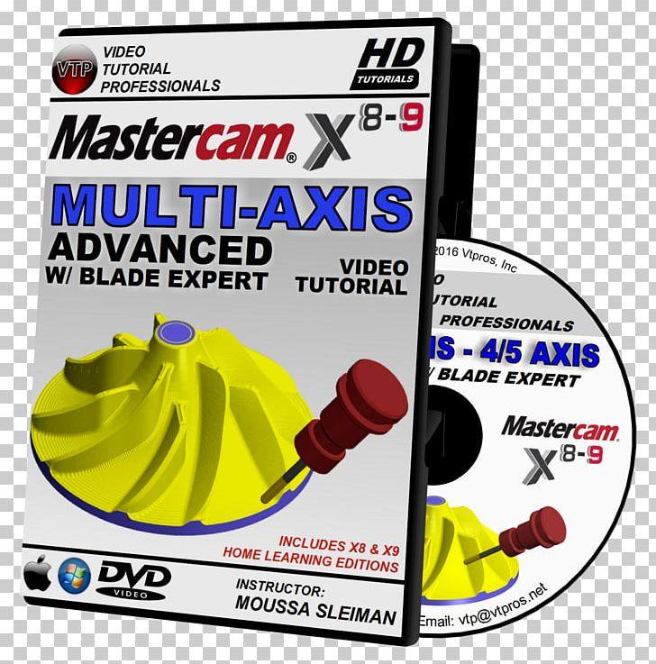 Mastercam HD DVD Tutorial High-definition Video 720p PNG, Clipart