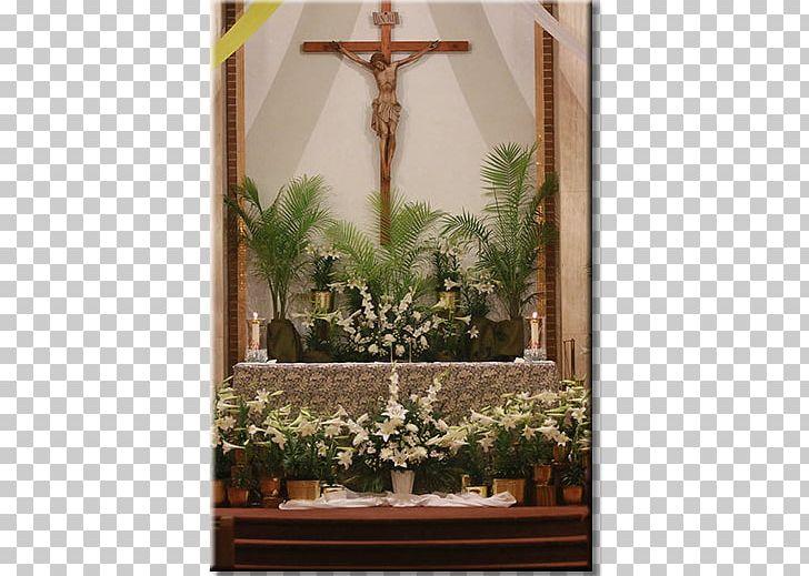 Floral Design Altar Window Shrine PNG, Clipart, Altar, Cross, Easter Vigil, Floral Design, Floristry Free PNG Download