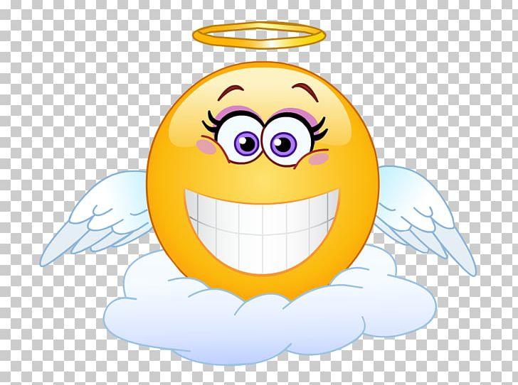 Emoticon Smiley Emoji Png Clipart Angel Baby Art Angel