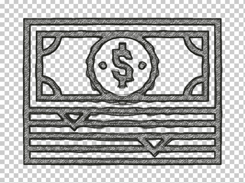 Cash Icon Investment Icon PNG, Clipart, Cash Icon, Investment Icon, Line Art, Rectangle, White Free PNG Download
