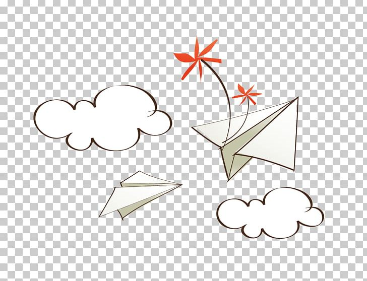Paper Airplane Png Clipart Airplane Angle Area Cartoon