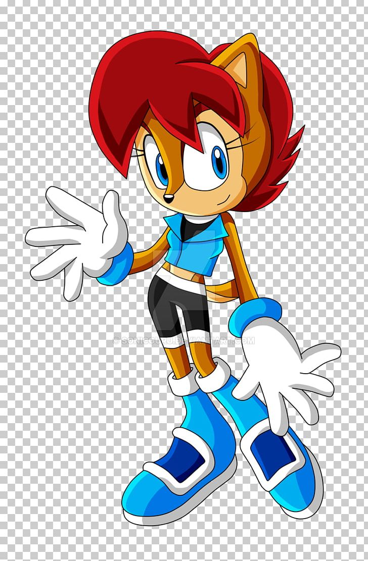 Sonic The Hedgehog Tails Princess Sally Acorn Rouge The Bat Metal