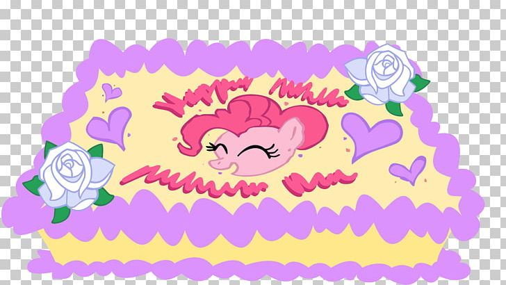 Pinkie Pie Birthday Cake Applejack Rainbow Dash PNG
