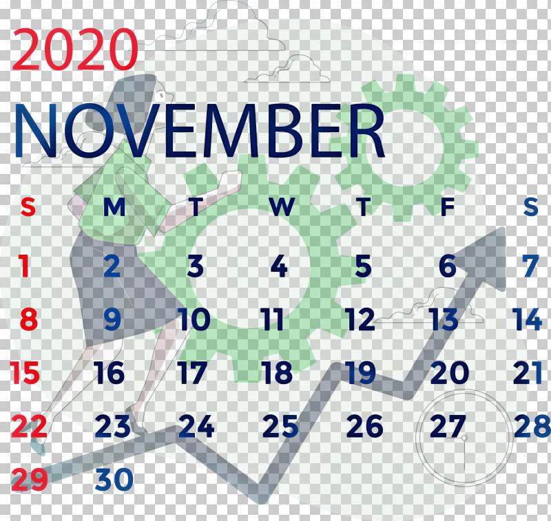 November 2020 Calendar November 2020 Printable Calendar PNG, Clipart, Area, Behavior, Chinese University Of Hong Kong, Human, Line Free PNG Download
