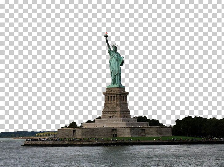 Statue Of Liberty Battery Park Ellis Island Upper New York Bay New York Harbor PNG, Clipart, Battery Park, Ellis Island, Freedom, Landmark, Manhattan Free PNG Download