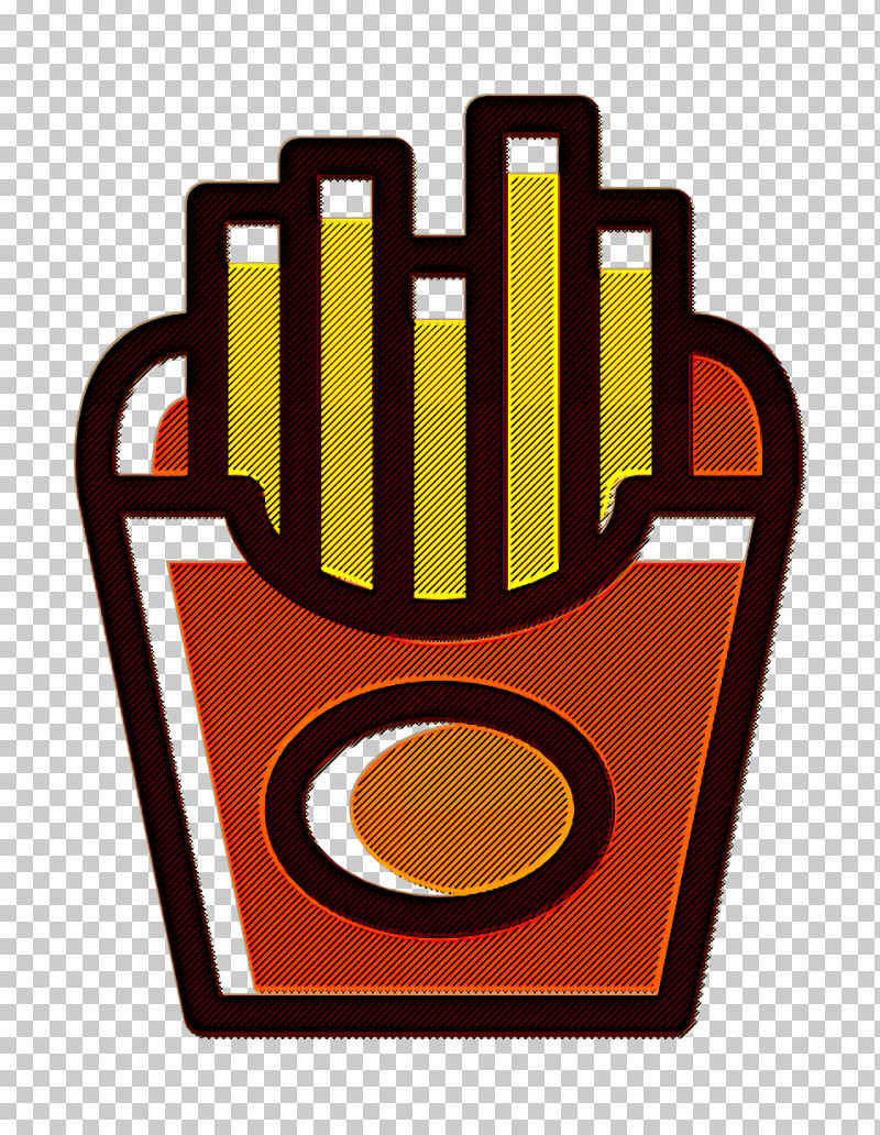 French Fries Icon Food Icon Linear Color Food Set Icon PNG, Clipart, Fast Food, Food Icon, French Fries, French Fries Icon, Fried Chicken Free PNG Download