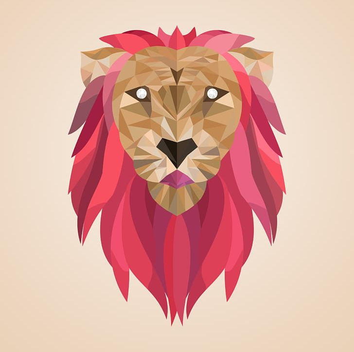 Lion Low Poly Artist 3D Computer Graphics PNG, Clipart, 3d