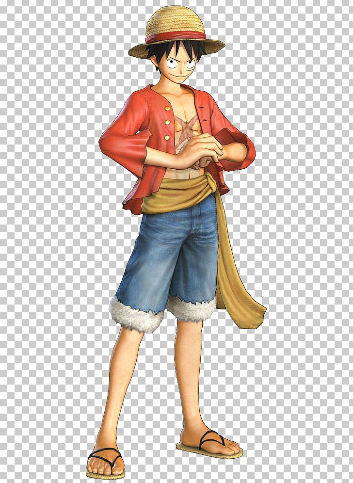 Monkey D. Luffy One Piece: Pirate Warriors 2 One Piece: Pirate Warriors 3 PNG, Clipart, Art, Cartoon, Cartoons, Character, Figurine Free PNG Download